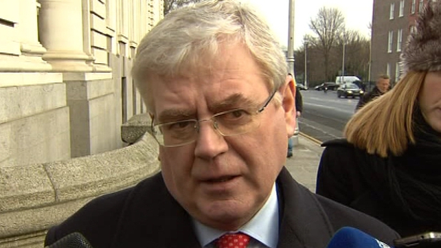 Eamon Gilmore said the introduction of water charges is dependant on metering