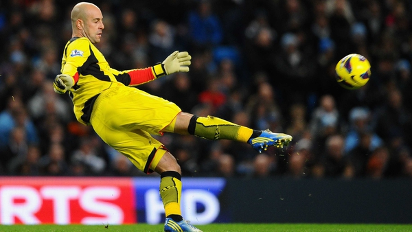 Jose Reina admits he had a poor spell at the start of the season