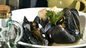 Donal Skehan's Mussels in Irish Cider.