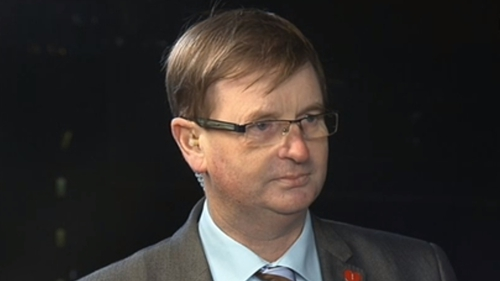 Willie Frazer is being questioned over the staging of illegal parades