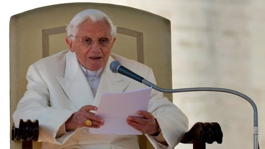 Resignation Of Pope Benedict