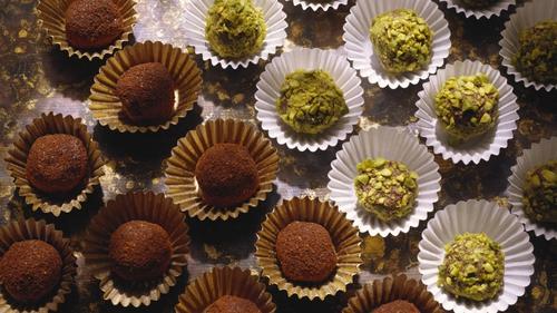 Dark Chocolate Truffles: Wade Murphy, Today Show