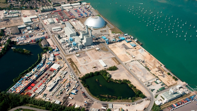 The ESB co-owns Marchwood Power Ltd's plant in England