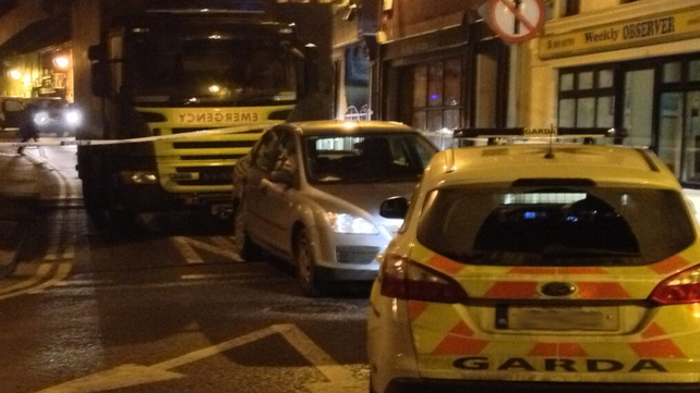 The Army bomb disposal team and gardaí were called to the scene (Pic: Ronan Madigan)