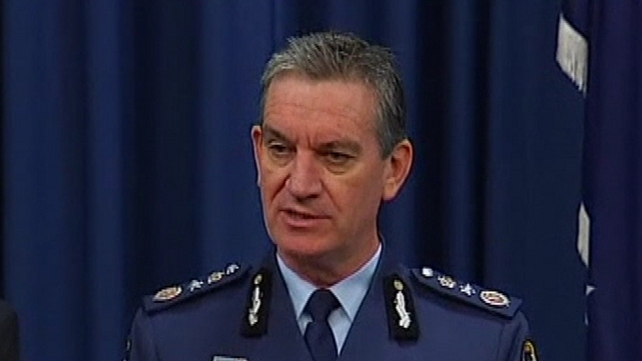 Police Commissioner Tony Negus said the drugs had a street value of over AUS$400m