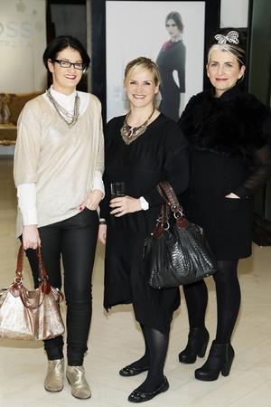 Suzie Coen, Melanie Morris and Cathy O'Connor