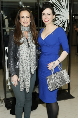 Lorraine Keane and Hilda O'Connor
