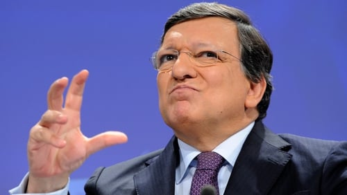 José Manuel Barroso said the Irish economy was an example that recovery programmes can work