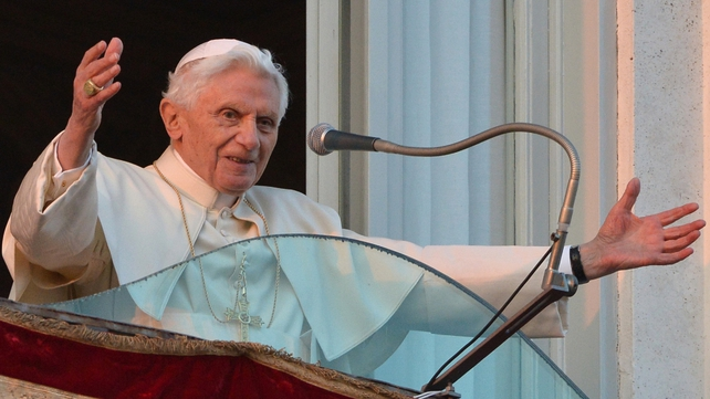 Pope Benedict is the first pope to resign willingly in eight centuries