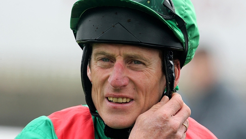 Johnny Murtagh's first winner as a trainer came at Tramore