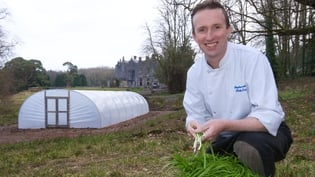 Stephan Lenahan, head chef of Belleek Castle in Ballina