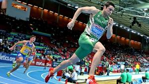 Brian Gregan clocked 45.94 seconds