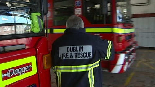 The Dublin Fire Brigade was called to the apartment on the South Circular Road at around 2.30am