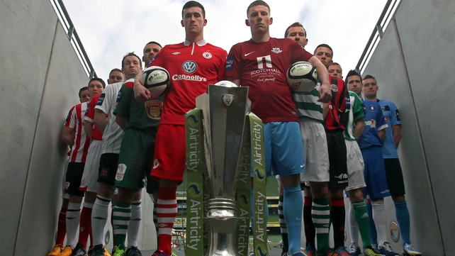 The positive news came on the day players and officials were at the Aviva for the launch of the new season