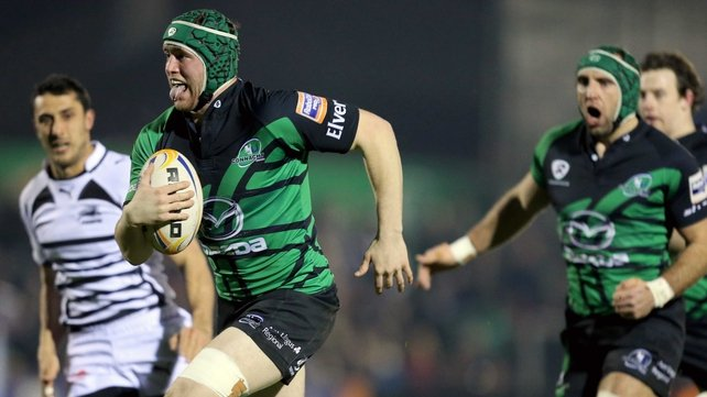 Eoin McKeon bagged his first try for Connacht