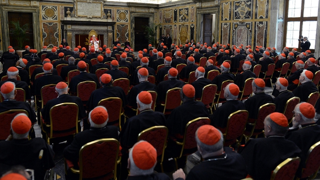 All of the cardinals eligible to vote are in the Vatican