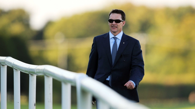 Aidan O'Brien's Giovanni Boldini was beaten on the line at Santa Anita