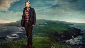 Douglas Henshall always looks hungover and morose in Shetland