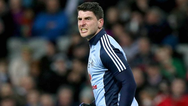 Bernard Brogan hit 1-10 in a man-of-the-match display at Croke Park