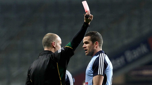 Ger Brennan gets his marching orders