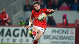 O'Gara in action for Munster
