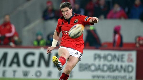 O'Gara in action for Munster