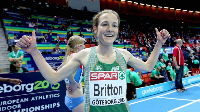 Fionnuala Britton rallied late to get up for bronze in the final