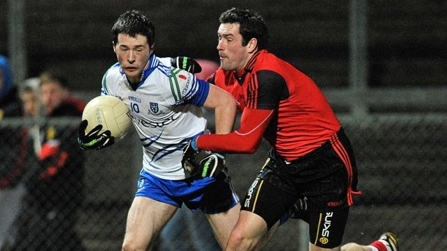 Christopher McGuinness' goal helped Monaghan take the points