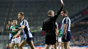 Ger Brennan subsequently gets his marching orders