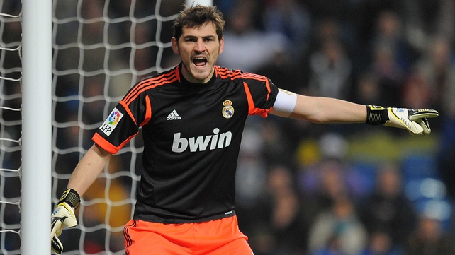 Real Madrid goalkeeper Iker Casillas has been sidelined since January