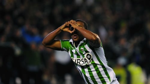 Dorlan Pabon bagged a brace for Real Betis in their rip-roaring 3-3 draw against Real Sociedad