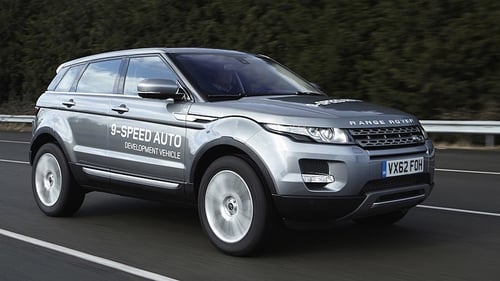 It will be introduced into the 2014 model year Range Rover Evoque, available later this year