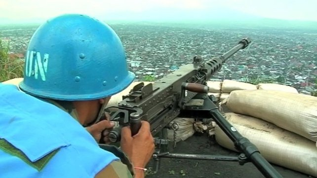 M23 fighters are expected to hand in their weapons ahead of a deployment of United Nations peacekeepers