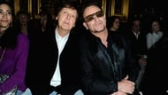 Bono with another Apple recording artist