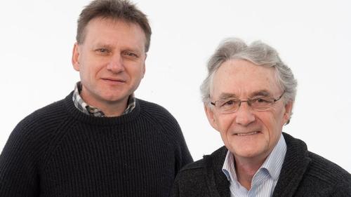 Blue of the Night presenters Eamonn Lenihan and Carl Corcoran