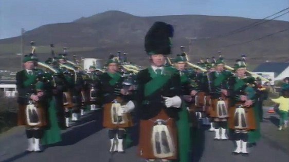 Achill on St Patrick's Day 1989