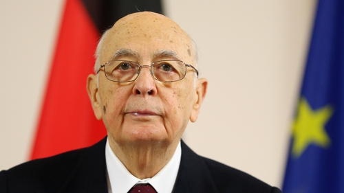 Georgio Napolitano is one of Europe's oldest heads of state