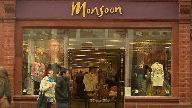 Monsoon Accessorize Ireland Ltd has 18 stores around the country