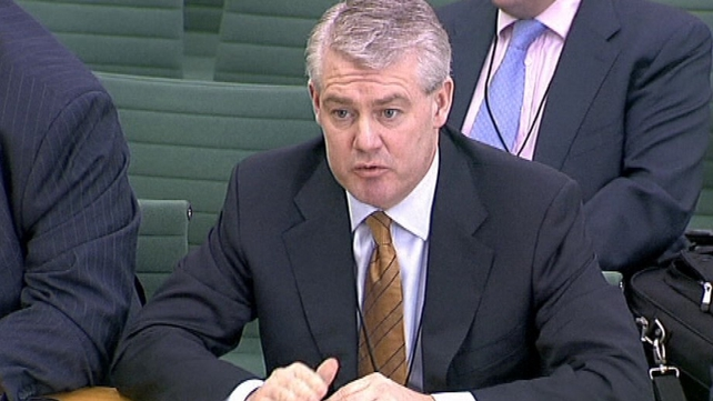 Paul Finnerty appeared before a House of Commons committee