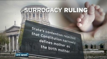 Department to consider landmark surrogacy ruling