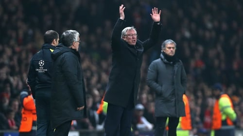 Alex Ferguson was up in arms after United's exit from the Champions League. They face Chelsea in the FA Cup quarter-final this afternoon.