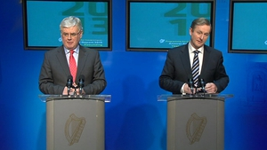 Eamon Gilmore and Enda Kenny said any new jobs will go to those on the Live Register