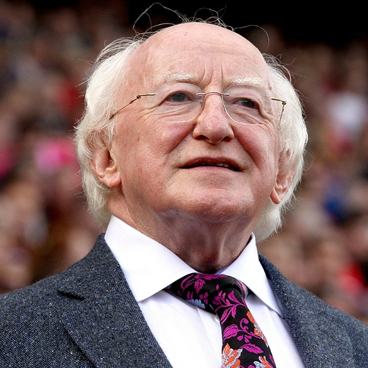 President Higgins anti-austerity stance