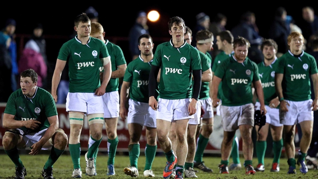 The French will provide a tough test for the Irish