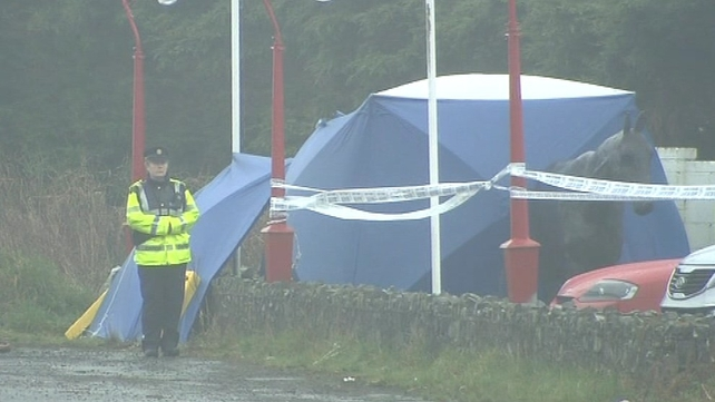 The man's body was taken to Drogheda after an initial examination at the scene