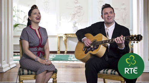 Imelda May and husband Darrel Higham - Part of the line-up for Glaoch - The President's Call