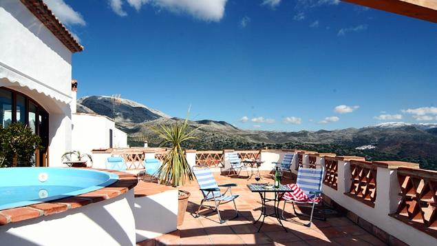 Los Castanos, the Alto Genal Valley, Spain
