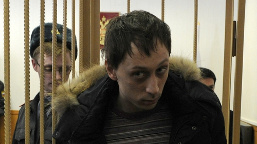 Pavel Dmitrichenko said he did not order anyone to throw acid on the artistic director's face