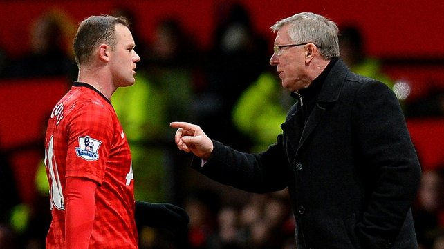 Wayne Rooney fell out of favour with former boss Alex Ferguson last season