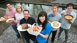 David, Yvonne, Neven, Aoibhinnn, Hector and Donal are the new Bord Bia Quality Mark ambassadors